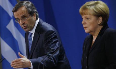 Merkel, Samaras