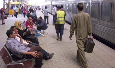 Egypt train station