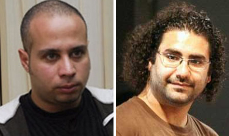 Ahmed Maher and Alaa Abdel-Fattah