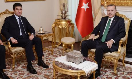 Erdogan, Barzani