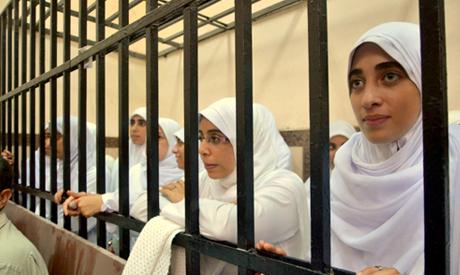 pro-Morsi female protesters