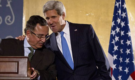 U.S. Secretary of State John Kerry with Egypt