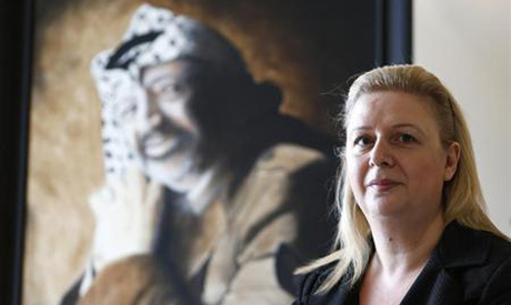 Suha Arafat .  File photo AFP