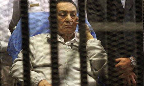 Ousted President Mubarak