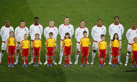 Players of team England