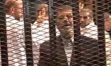 Ousted former Egyptian President Mohamed Morsi