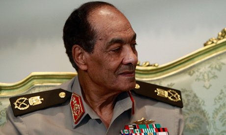 Former military council leader Field Marshal Tantawi