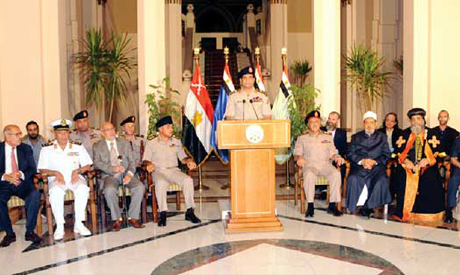El-Sisi announced the ouster of Mohamed Morsi