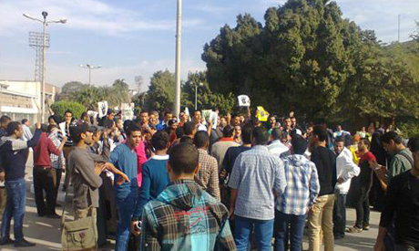 Protests erupt in different Egyptian universities