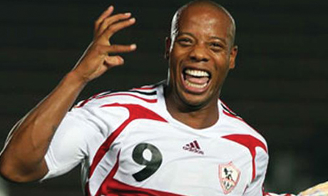 Ghanaian striker Junior Agogo