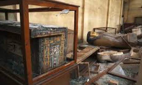destruction at malawi museum