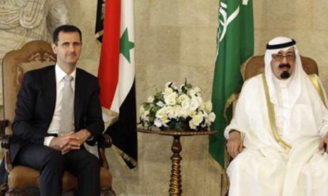 Assad, Saudi King Abdullah