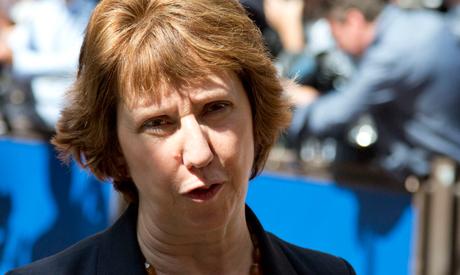 European Union Foreign Policy Chief Catherine Ashton