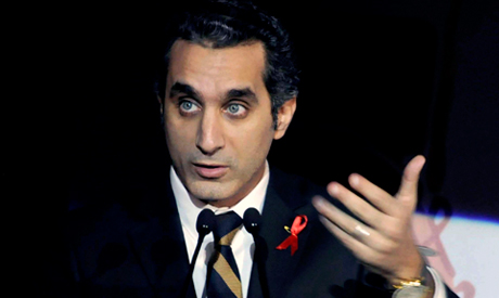 Egyptian TV host Bassem Youssef