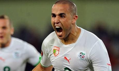 Algerian defender Madjid Bougherra
