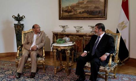 Marzouki, Morsi