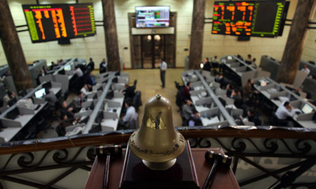 Egypt stocks slightly tumble on calls for nationwide protests