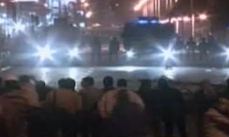 Skirmishes triggered at presidential palace