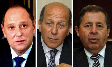 Ex ministers Garana, Maghrabi and Rashid