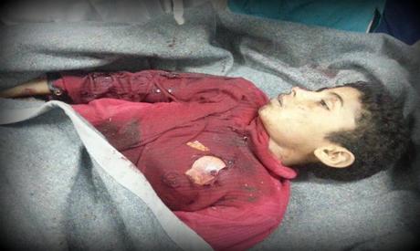 Omar Salah in the morgue (Source: Facebook)