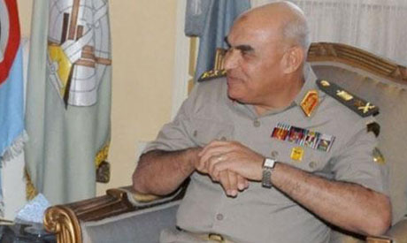 Egypt chief of staff says army will avoid politics