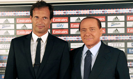Allegri and Berlusconi