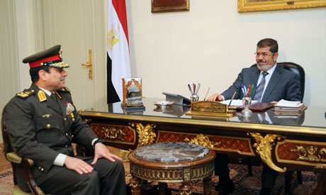 Morsi and El-Sissi