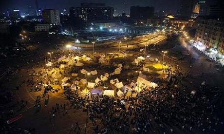 Tahrir Square sit in