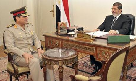 Sissi with Morsi