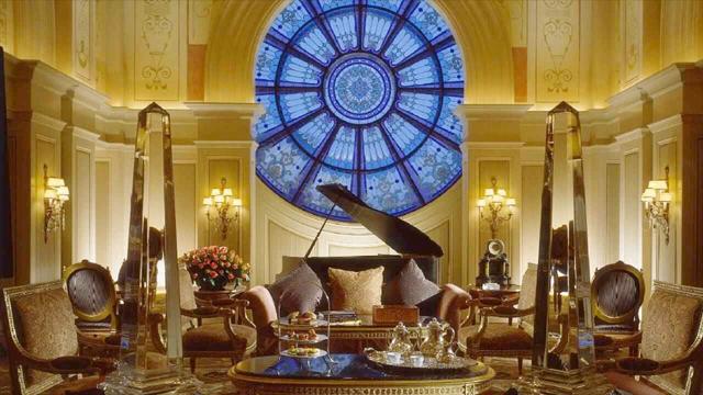 Four Seasons First Residence tea parlour