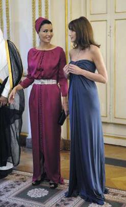 Fashion Icon Alert Sheikha Mozah Bint Nasser Al Missned Of Qatar Style Life Style Ahram