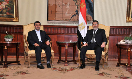 Ahmadinejad and Morsi