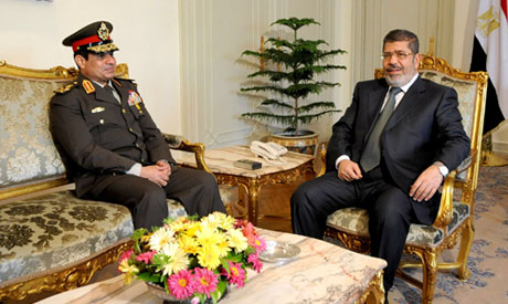 el-Sissi and Morsi
