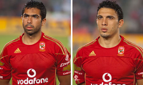 Ahmed Fathi and Mohamed Gedo