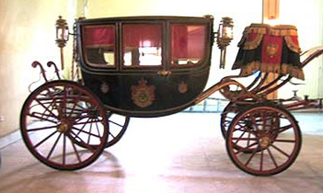 the carriage used by empress eugenie