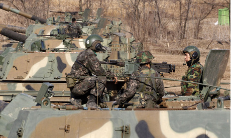 South Korea drills