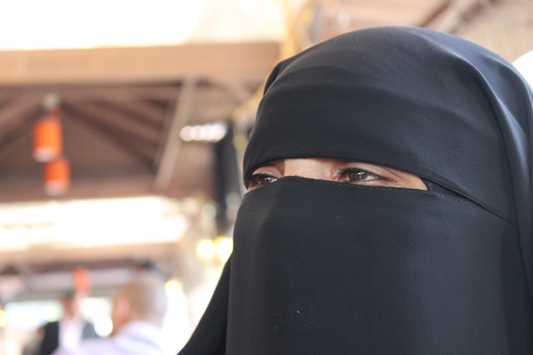 Wafaa, wife of condemned man