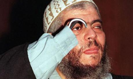 Handless cleric Abu Hamza al-Masri