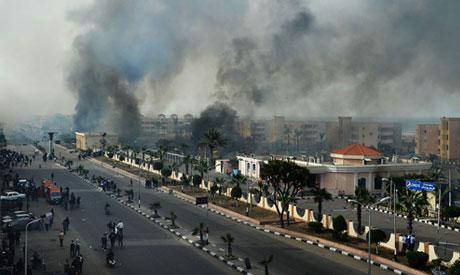 violence in Port Said