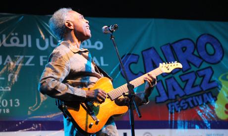 Gilberto Gil at Cairo Jazz Festival