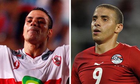 Amr Zaki and Mohamed Zidan