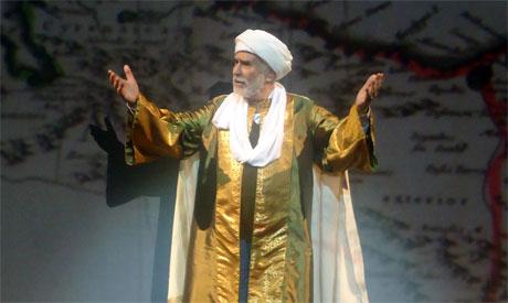 Abdelrahman Abou-Zahra as Ibn Battuta (photo: Ati Metwaly)