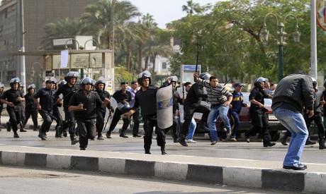 tahrir clashes