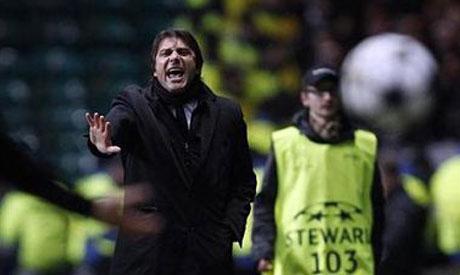 Juventus' coach Antonio Conte
