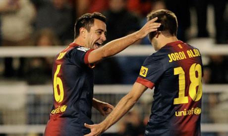 Xavi and Alba