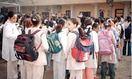 Students Carrying Books