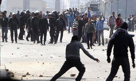 Ultras besiege former interior minister