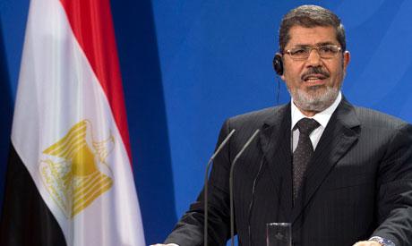 President of Egypt Mohammed Morsi,