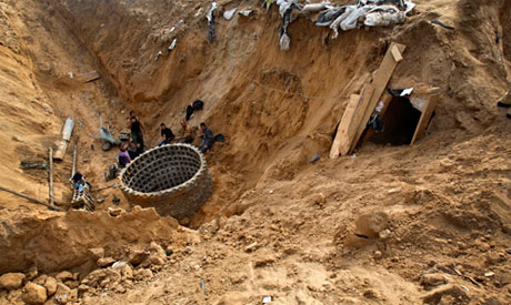 Egypt's tunnel closures hit Gaza builders