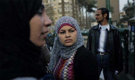 Egyptian activist Samira Ibrahim,